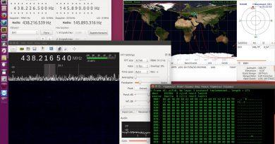 Телеметрия со спутника DX-1 20.04.2017 20:25 UTC