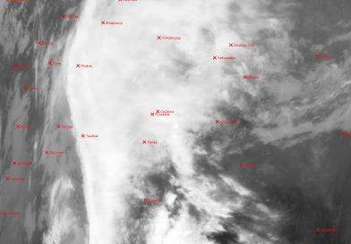 Метеоснимок со спутника METEOR-M2 19.04.2017 17:11 UTC