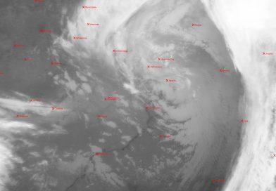 Метеоснимок со спутника METEOR-M2 20.04.2017 17:00 UTC