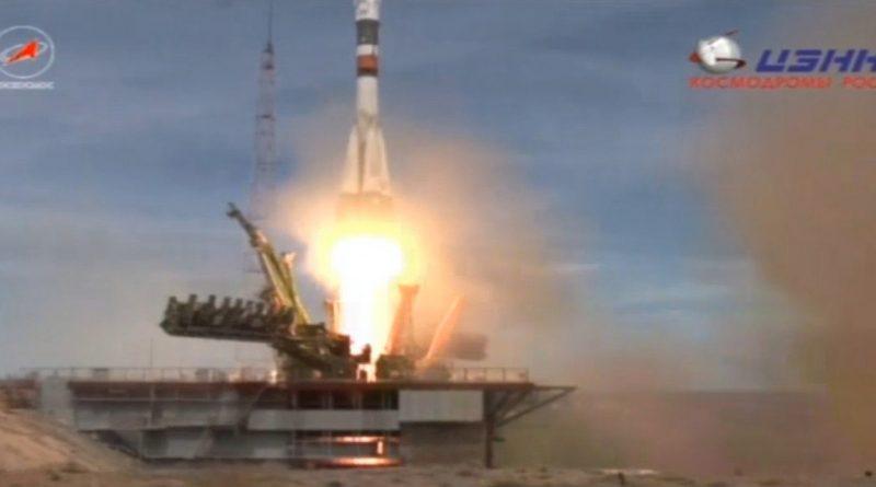 20 апреля в 10:13 мск с космодрома Байконур к МКС стартовал пилотируемый корабль «Союз МС-04»