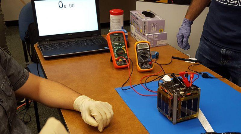 Команда разработчиков спутника IRVINE01 просит помощи в принятии телеметрии с аппарата