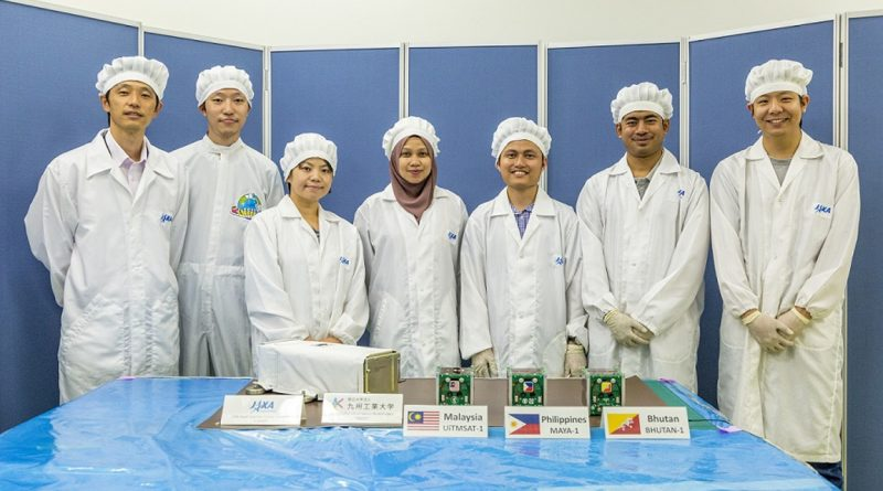 10 августа 2018 года с борта МКС запустят 3 спутника: BHUTAN-1, MAYA-1, UiTMSat-1