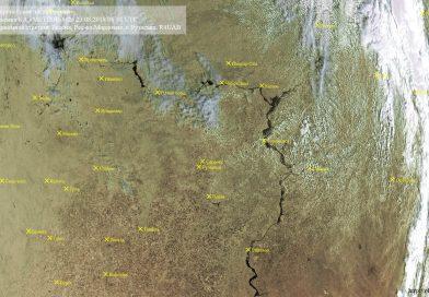 Метеоснимок со спутника METEOR-M2 23.08.2018 06:38 UTC