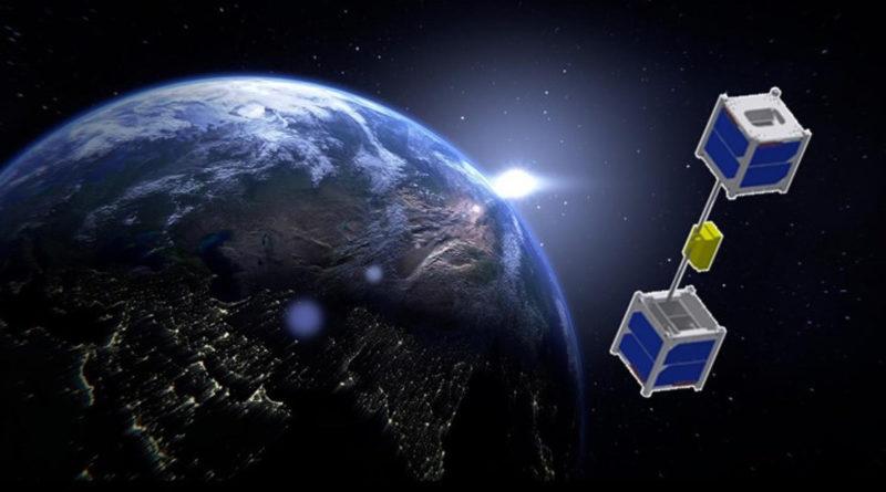 6 октября 2018 года с борта МКС запустили миниатюрный «прародитель» космического лифта