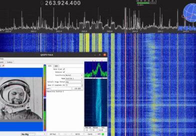 «Свободные радиооператоры» на спутниковых транспондерах SATCOM устроили флешмоб в честь 60-летия полёта Юрия Гагарина в космос