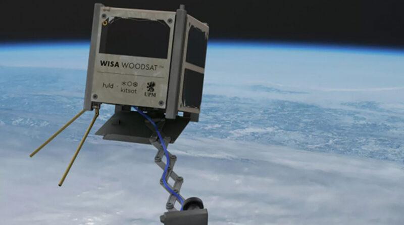 Деревянный спутник «WISA Woodsat» готовится к запуску